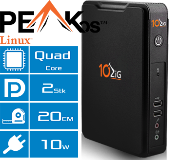 Thin Client 10ZiG 5872qd Features