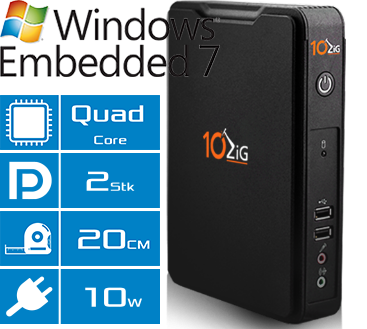 Thin Client 10ZiG 5817qd Features