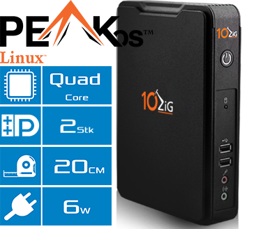 Thin Client 10ZiG 5802qd Features
