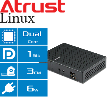 Atrust Linux Thin Client t68LD Features