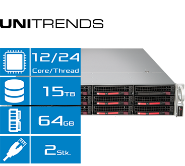 Unitrends Recovery 824S   Features