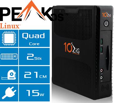 Thin Client 10ZiG 7872q Features