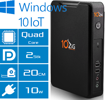 Thin Client 10ZiG 5810qd Features